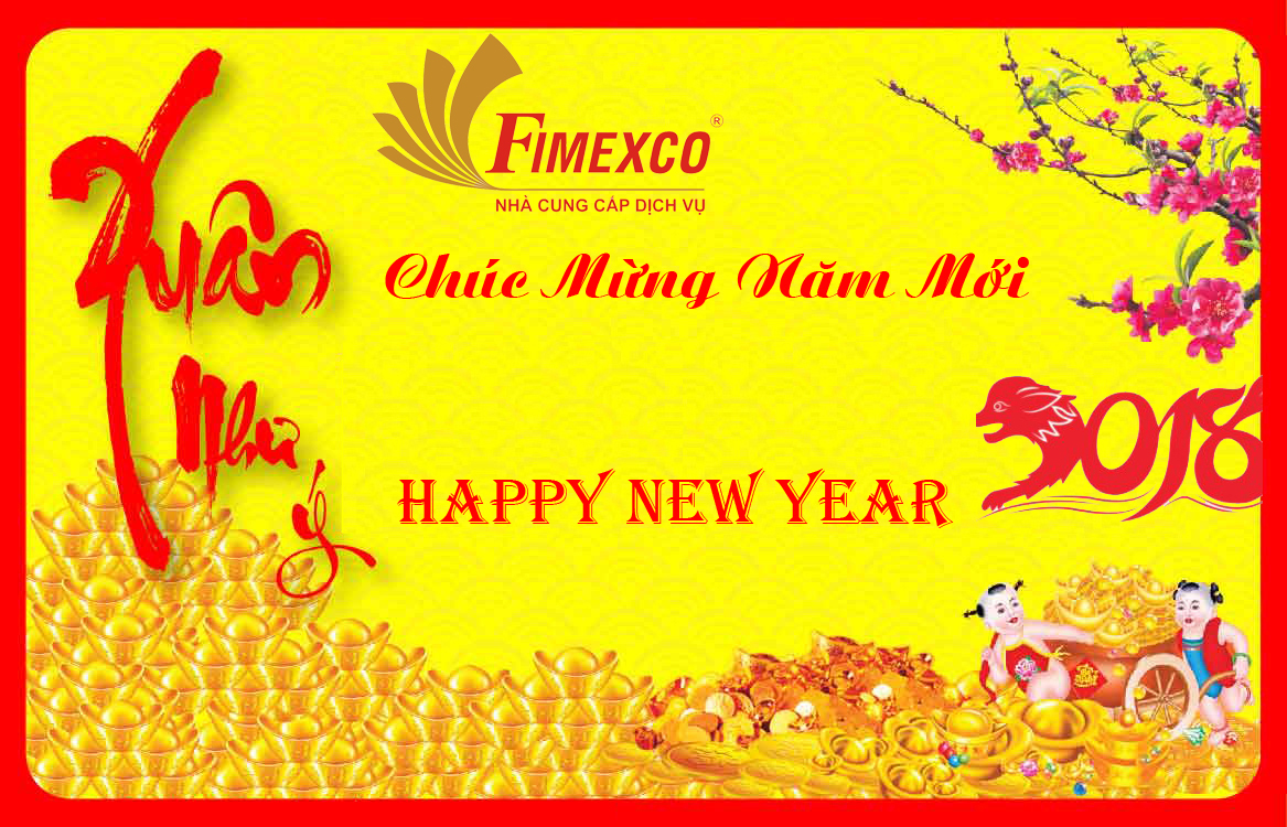 letter of saying thank you and happy new year the spring 2018 fimexco service supplier