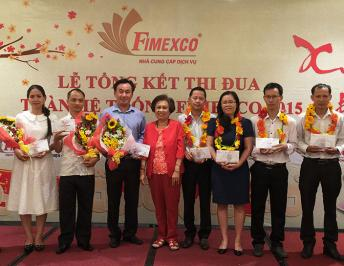 LOYALTY CUSTOMER MEETING AND 2015 YEAR-END SUMMATION OF FIMEXCO JSC