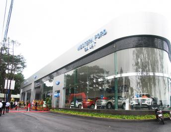 OPENING CEREMONY OF THE NEW SHOWROOM OF WESTERN FORD AT DA LAT CITY