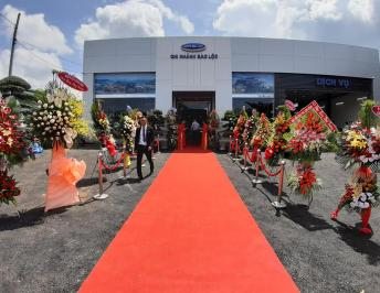 THE LAUNCHING OF DA LAT AUTO'S SHOWROOM AND SERVICE FACTORY IN BAO LOC