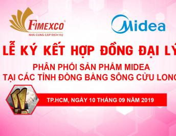 DEALER CONTRACT SIGNING CEREMONY TO DISTRIBUTE MIDEA PRODUCTS IN PROVINCES IN THE MEKONG RIVER DELTA