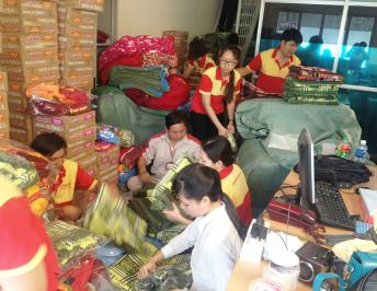 FIMEXCO'S ACTIVITY TO SUPPORT PEOPLE WHO HAVE SUFFERED FROM TYPHOON IN CENTRAL VIETNAM