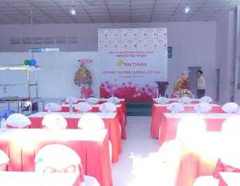 OPENING THE ASSEMBLY FACTORY OF TAN THUAN TECHNOLOGY & ELECTRO MECHANICAL CO., LTD