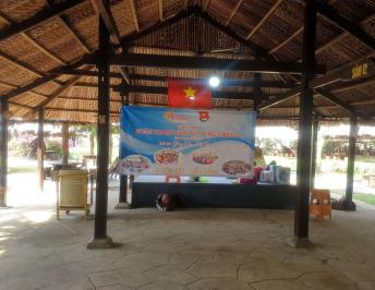 THE MEETING OF FIMEXCO'S MEMBERS AT BO CAP VANG TOURIST AREA ON THE OCCASION OF THE YOUTH UNION FOUNDATION –  MARCH 26TH