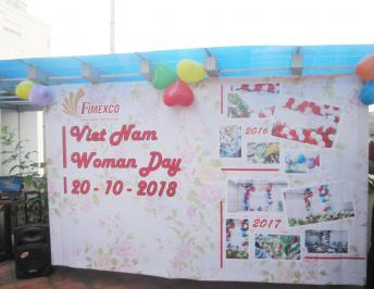 FIMEXCO WELCOMES  THE VIETNAM WOMEN'S DAY – OCTOBER 20TH 2018
