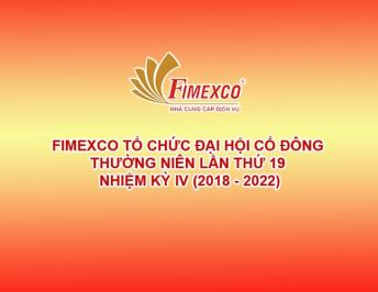 THE 19TH ANNUAL SHAREHOLDER CONFERENCE OF FIMEXCO