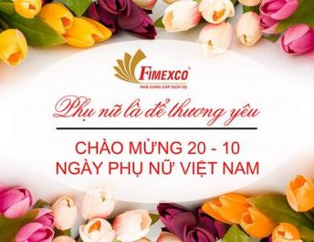 FIMEXCO WELCOME VIENAM WOMEN'S DAY OCTOBER 20TH